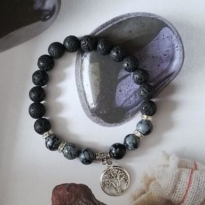 💎 2 for $25 💎 snowflake obsidian